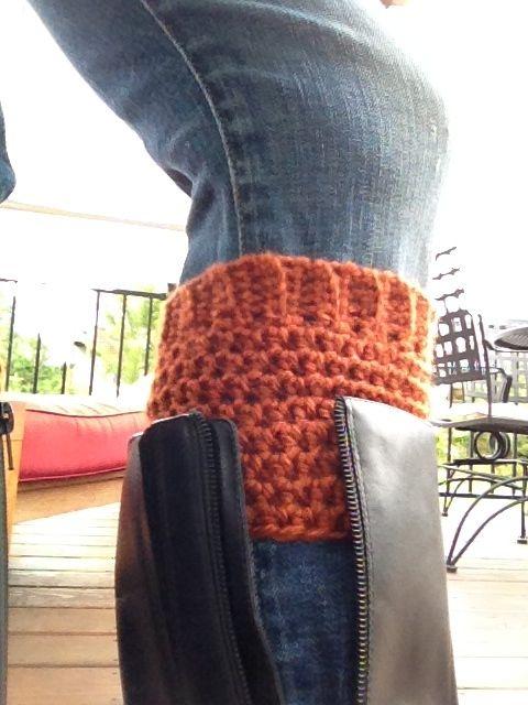 crochet boot cuff 3