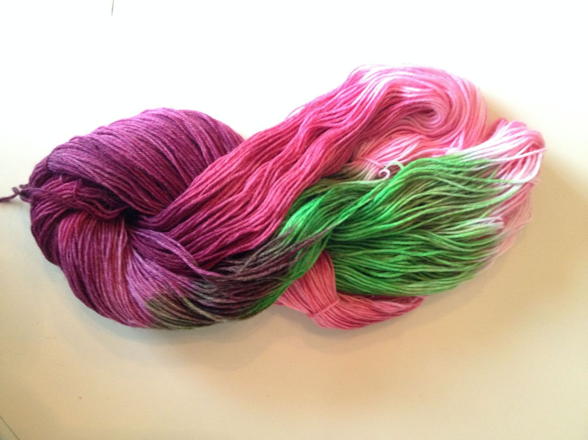 Crochet Knitting Yarn : Hand Dyed Yarn Knit and Crochet