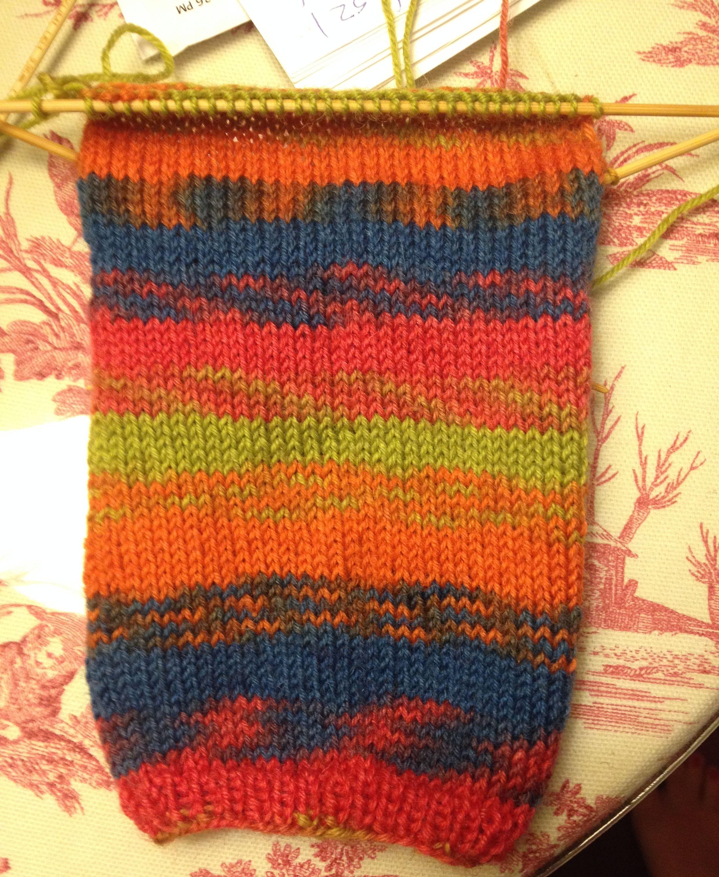Knitting Patterns For Funky Socks : Socktober is Here! Knit and Crochet