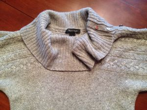sweater before